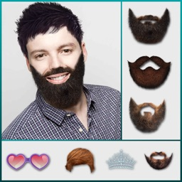 Man Mustache Hair Style Editor