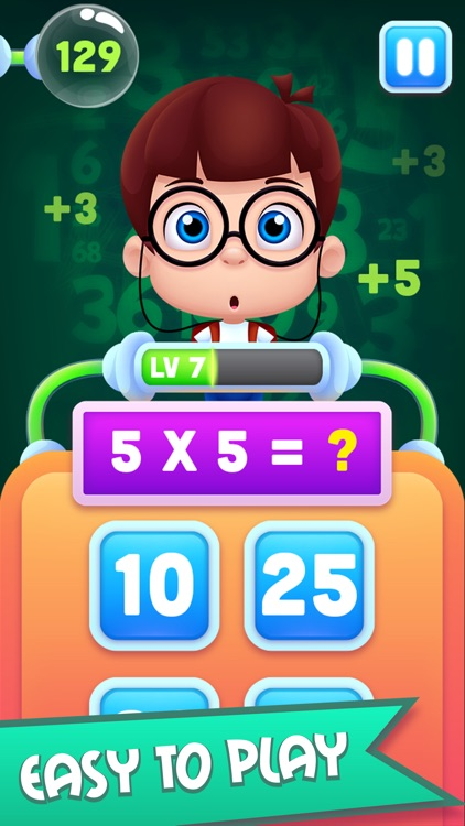 Easy Math for Kids - Addition, Subtraction & More