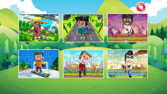 cartoon puzzle spiele lernspiele f r kleine kinder im app store. Black Bedroom Furniture Sets. Home Design Ideas