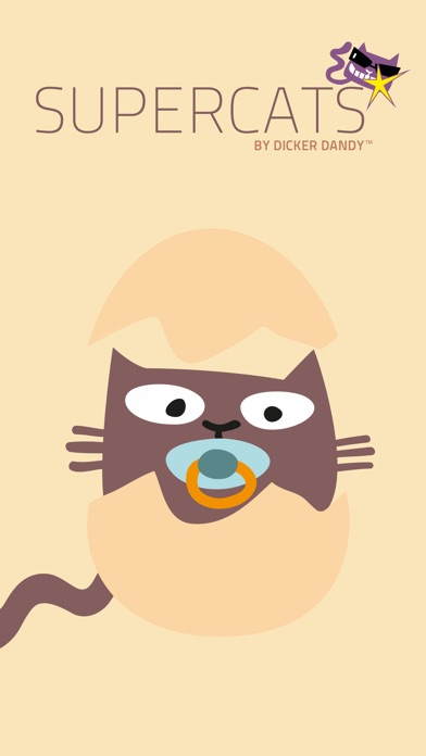 Supercats Stickers