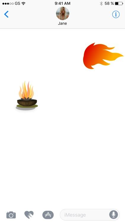 Fire Sticker Pack!