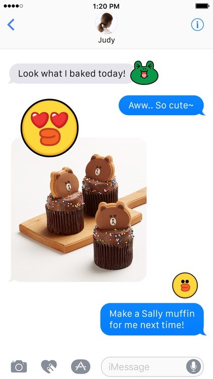 SALLY & FRIENDS Emoji Stickers - LINE FRIENDS