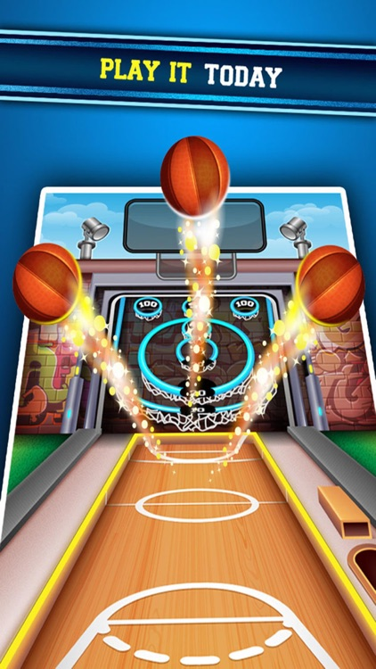 Urban Hoop Shot Basketball Bowling screenshot-4