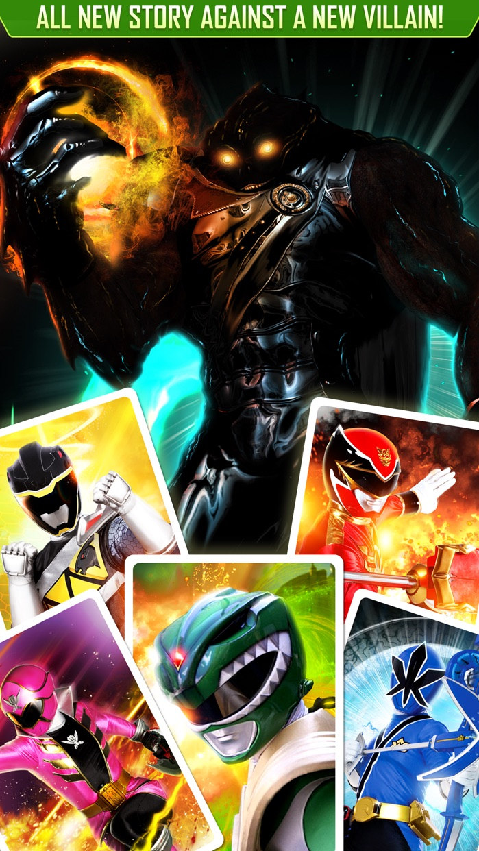 Power Rangers: UNITE Screenshot