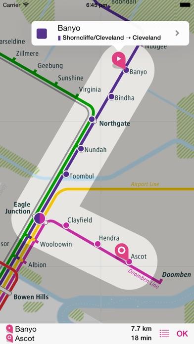 布里斯班鐵路圖 Lite屏幕截圖3