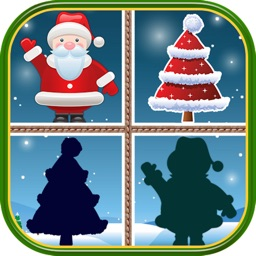 Christmas Matching Pairs : Find all the matching