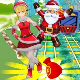 Golden Subway & Snow Princess Run
