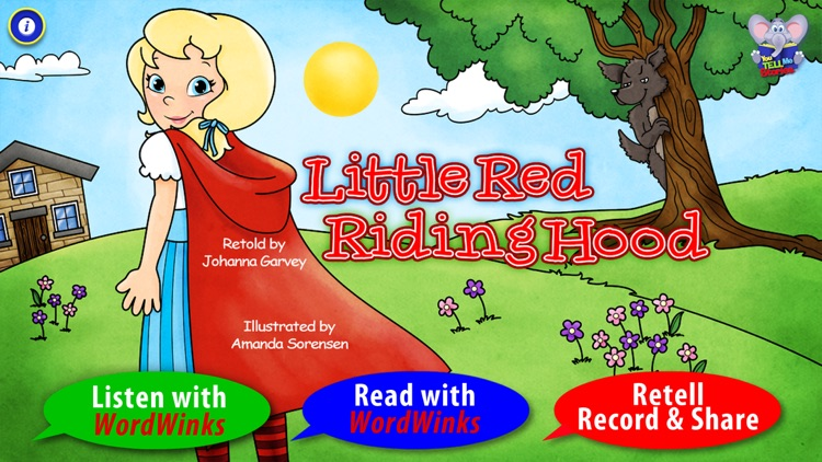 Little Red Riding Hood with WordWinks