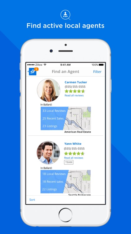 Zillow Real Estate - Homes for Sale & for Rent app image