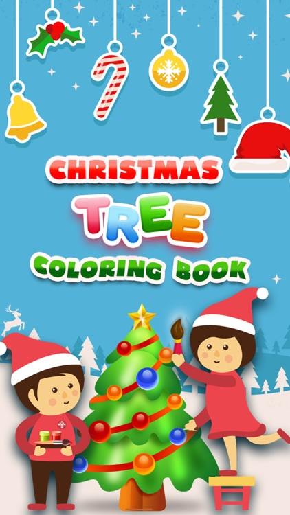 Christmas Tree Coloring Book - 70+ Color Pages