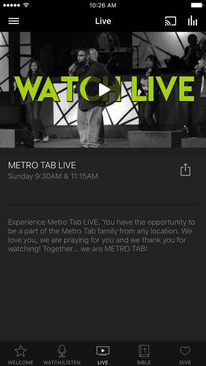 Metro Tab Church