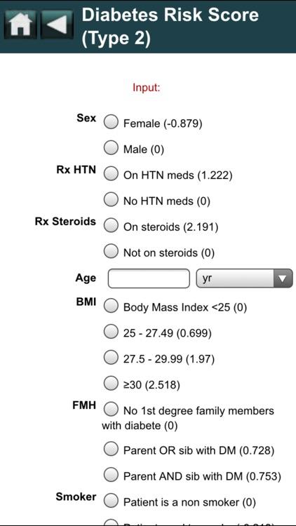 EBMcalc Nutrition screenshot-4
