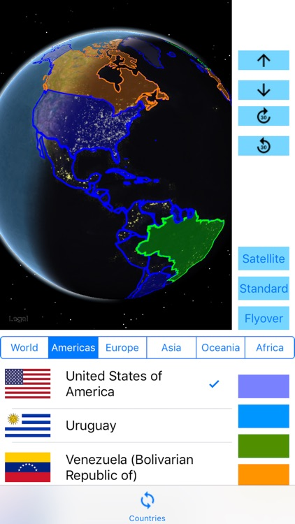 3D Visited Countries screenshot-0