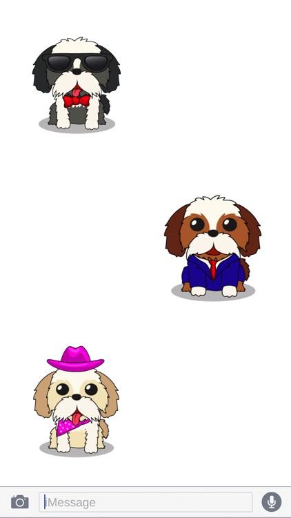 ShihTzuMoji - Shih Tzu Emojis