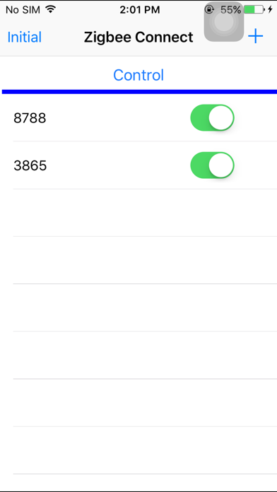 ZigbeeConnect screenshot three