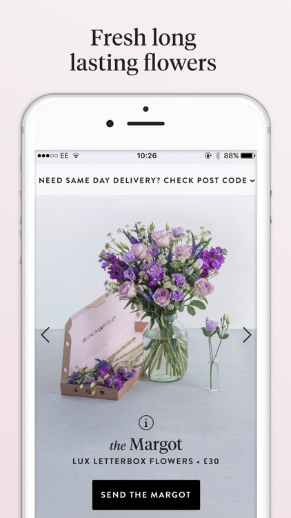 Bloom & Wild Flowers - Flower Delivery & Gifts App