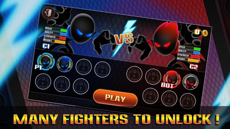 Stickman Warriors: UFB Fighting screenshot-3