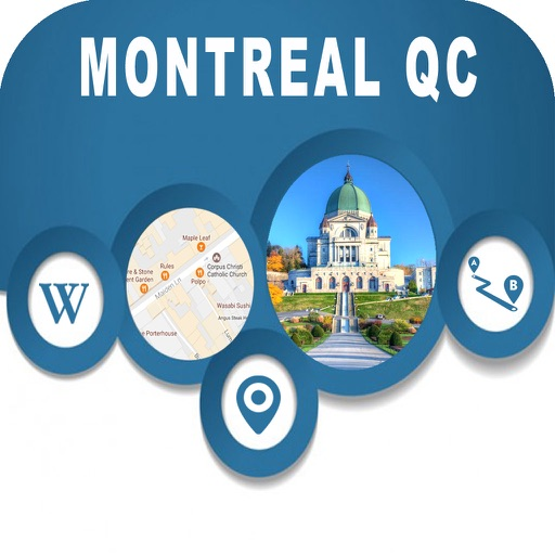 Montreal QC Canada Offline City Maps Navigation