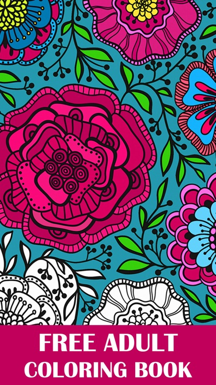 Coloring Book for Adults Free Adult Coloring Books
