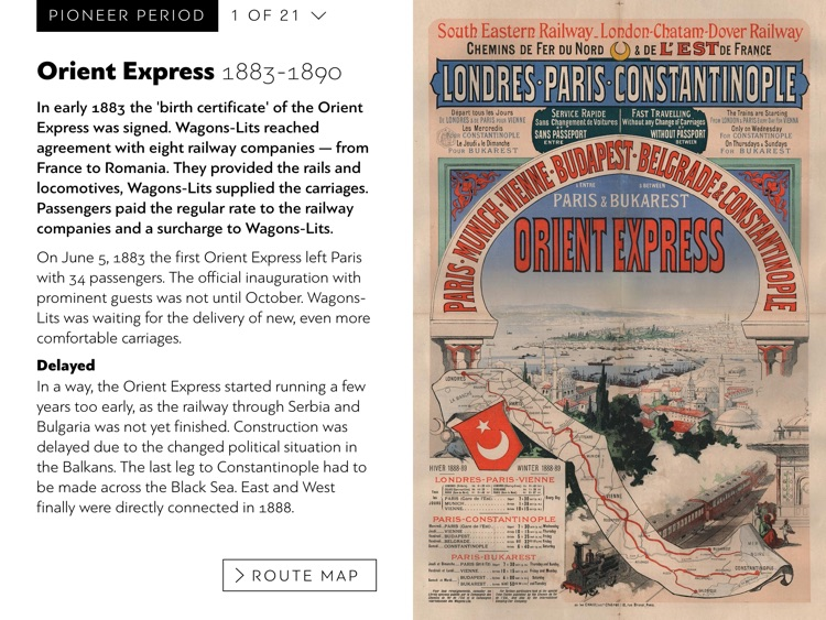Orient Express History screenshot-1