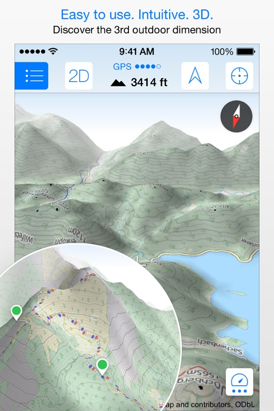 Maps 3D PRO - Outdoor GPS - Tips for Android & iOS Game