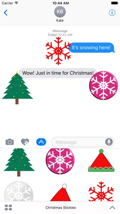 Christmas Stickies screenshot-4