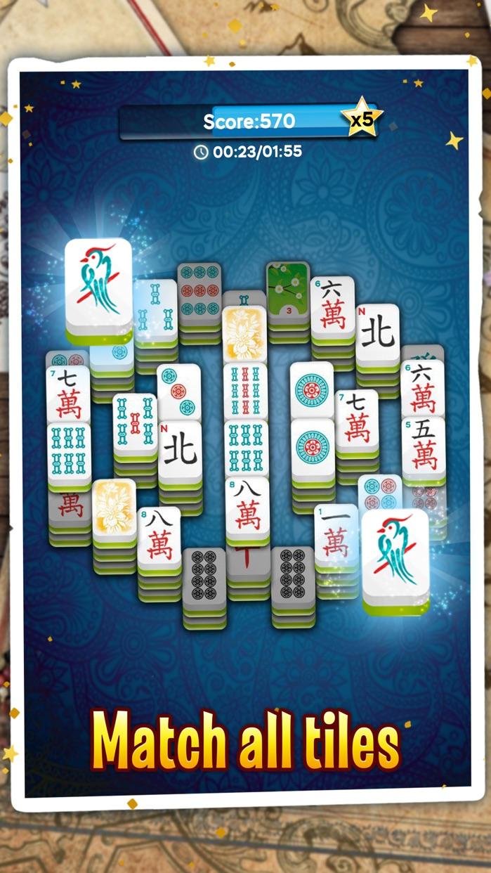 Mahjong Solitaire Dragon Screenshot
