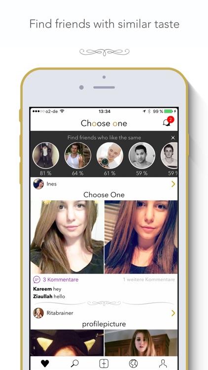 Choose One - Find Friends screenshot-3