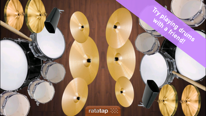 Ratatap Drums Free Screenshot