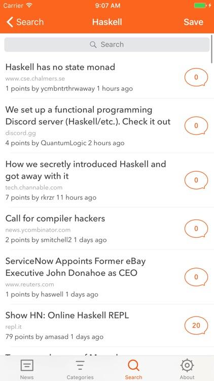 Glider - Hacker News Reader screenshot-4