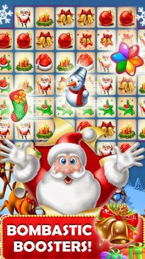 christmas crush kids puzzle games to match candy on the app store