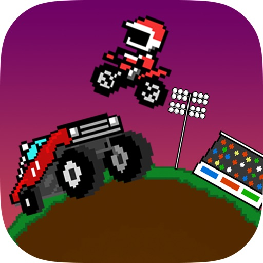 Monster Truck Jumper - BEST BIKE JUMPING GAME WITH MULTIPLAYER Icon