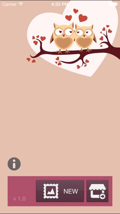 Valentine Frames Plus screenshot one