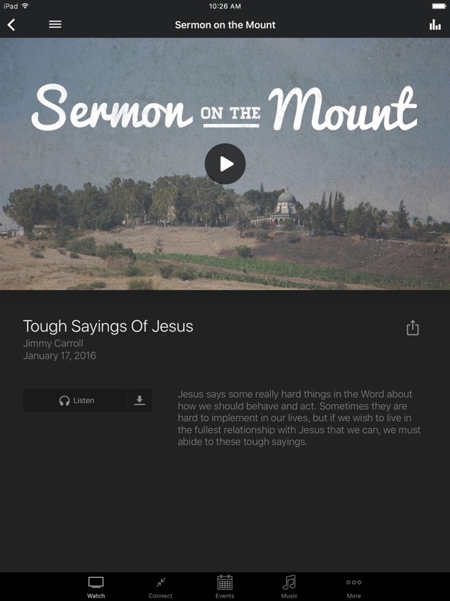 Journey Church Raleigh on the App