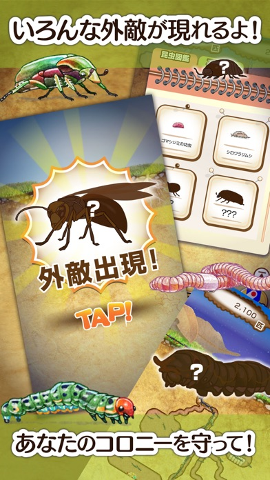 アリの巣コロニー - 暇つぶし観察放置育成ゲームスクリーンショット3