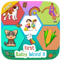 First Baby Words 2 Free For Kids and Toddlers