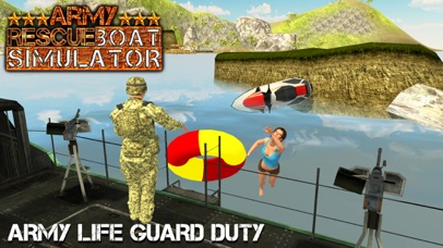 Army Rescue Boat Simulator & 911 Coast Emergency