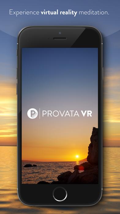 Provata VR - Guided Meditation & Mindfulness screenshot one