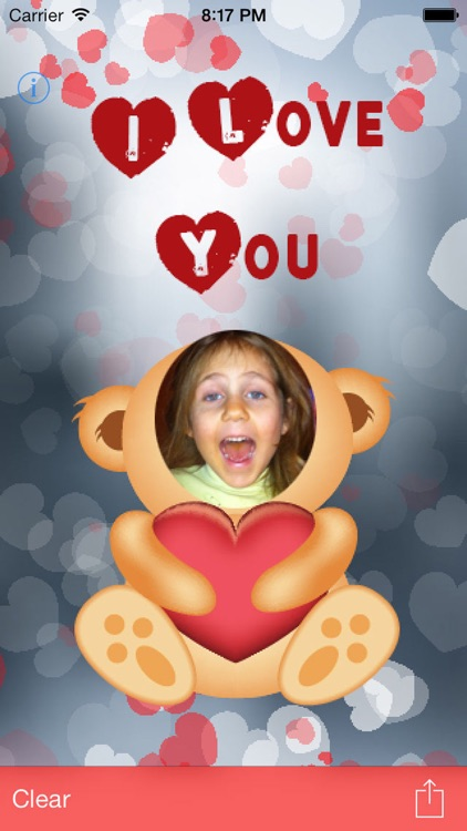 I Love You - Love Card Maker for Valentines Day