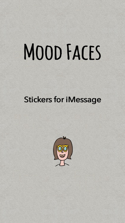 Mood Faces Stickers for iMessage screenshot-0