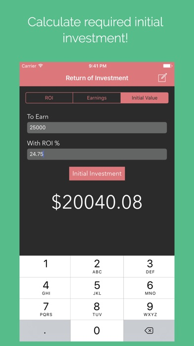 Screenshot #6 for Investment Calculator Pro