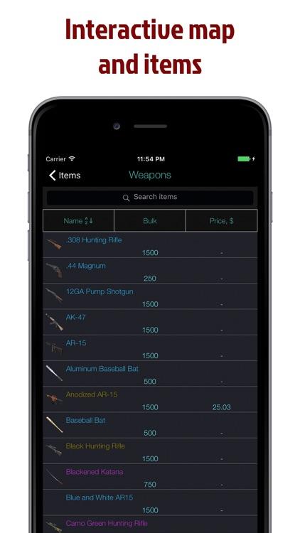 Pocket Wiki for H1Z1