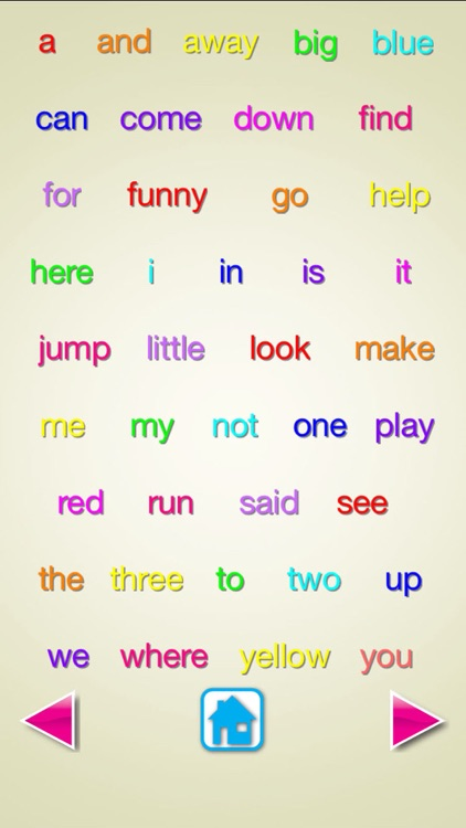 Sight Words -Voice Flash Cards,Vocabulary,Sentence screenshot-1