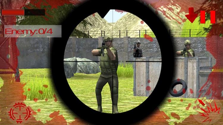 Last Commando Assassin Attack: Sniper Death Shoot