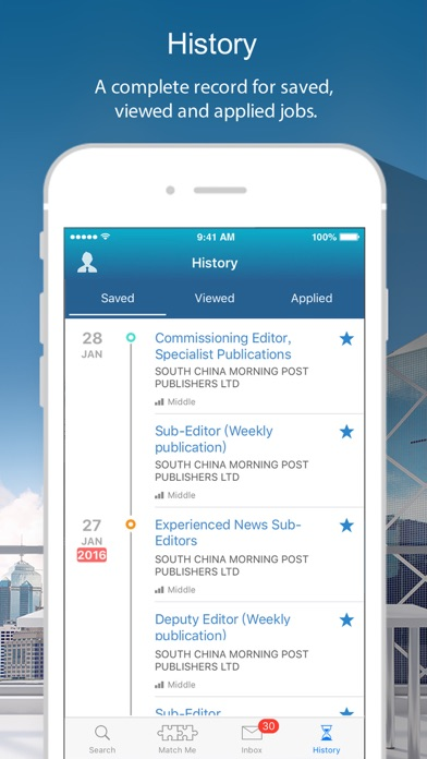 cpjobs - Hong Kong jobs screenshot three