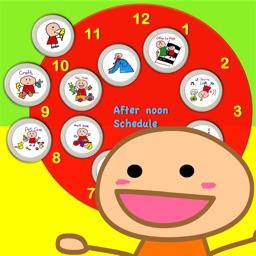 Kids' schedule & Kids' todo list