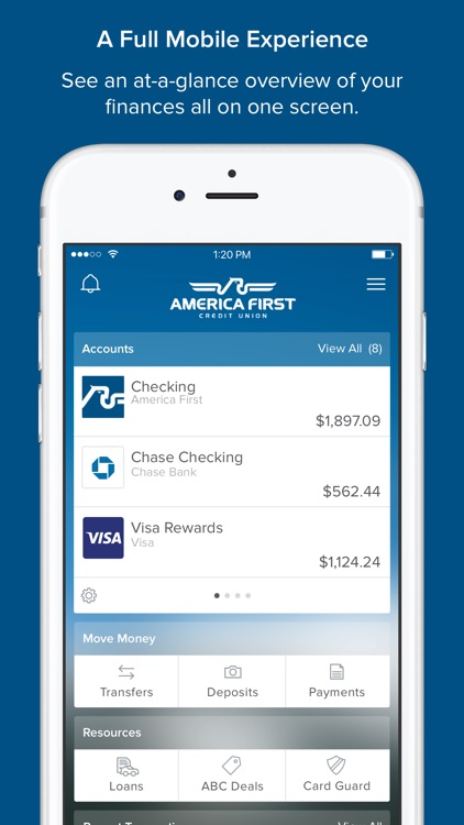 America First Credit Union Mobile Banking