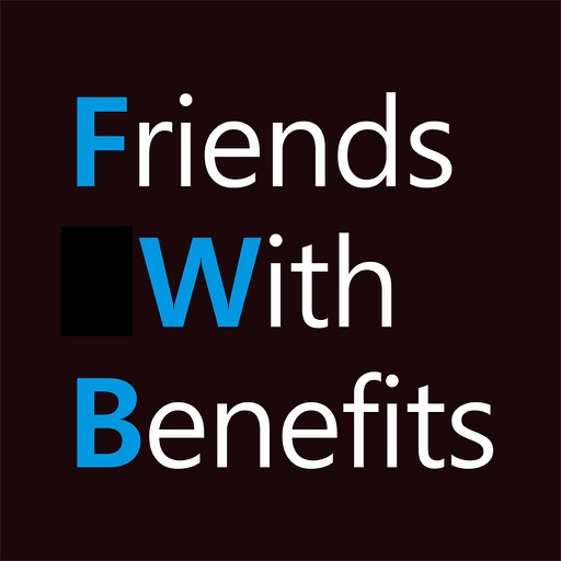 Friends With Benefits - meet women and men, chat application logo
