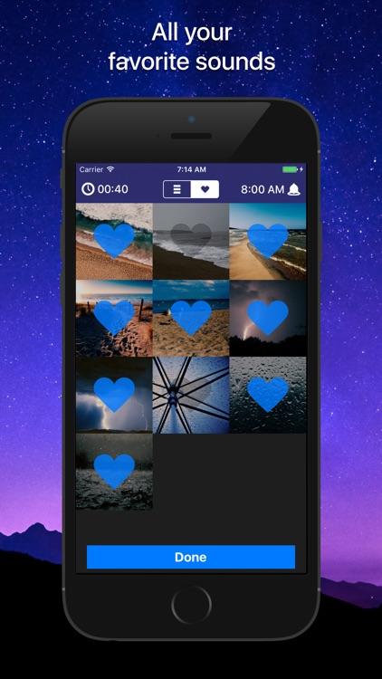 Sleep Sounds: relaxing sounds screenshot-3