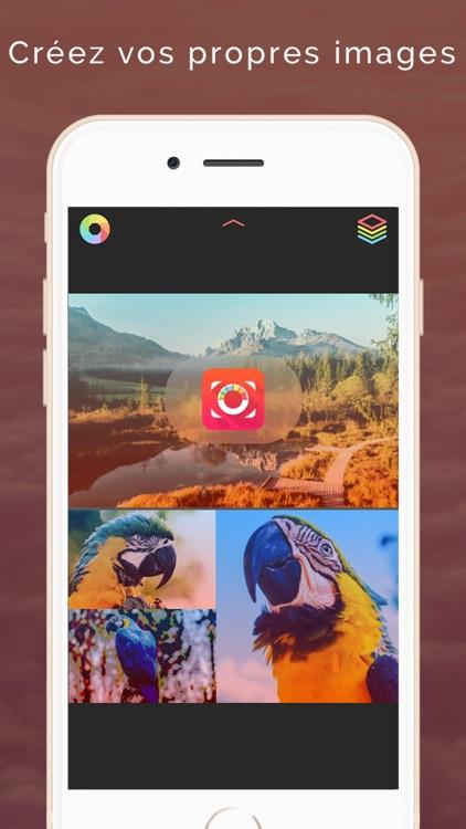 PicsEdit - Créer des images et sublimer vos photos
